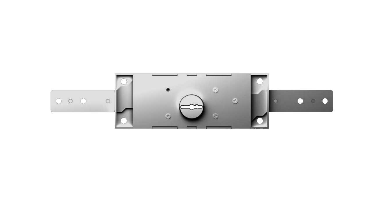 Cipierre 3600/C Zamek do bram garażowych na klucz dwupiórowy
