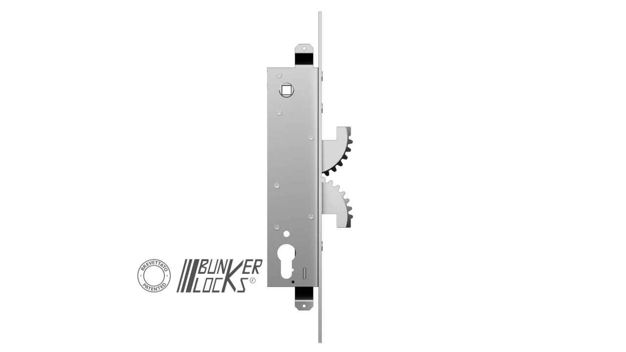 Cipierre 4000 Zamek Bunkerlock do drzwi metalowych